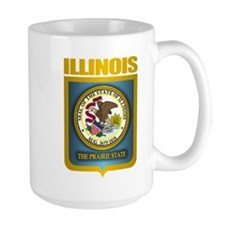 """Illinois Gold"" Mug"