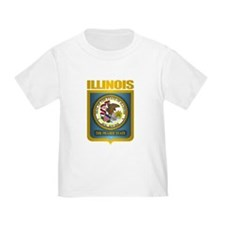 """Illinois Gold"" T"