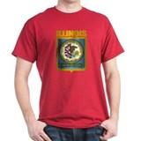 """Illinois Gold"" T-Shirt"