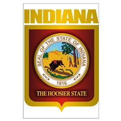 """""""Indiana Gold"""" Large Poster"""