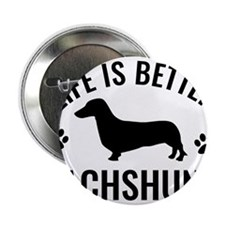 "Daschund Design 2.25"" Button (100 pack)"