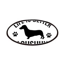 Daschund Design Patches