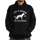 German shepherd breed Design Hoody