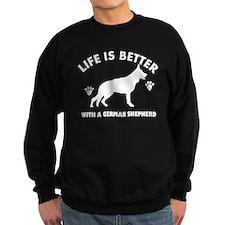 German shepherd breed Design Sweatshirt