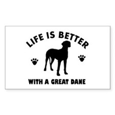 Great Dane breed Design Decal