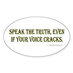 truth Sticker (Oval 10 pk)