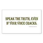 truth Sticker (Rectangle 10 pk)
