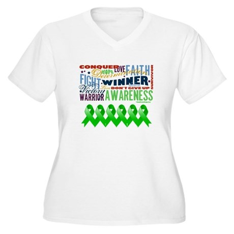 Stem Cell Transplant Survivor Women's Plus Size V-