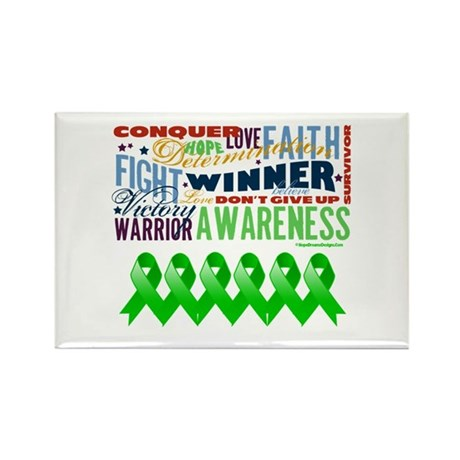 Stem Cell Transplant Survivor Rectangle Magnet