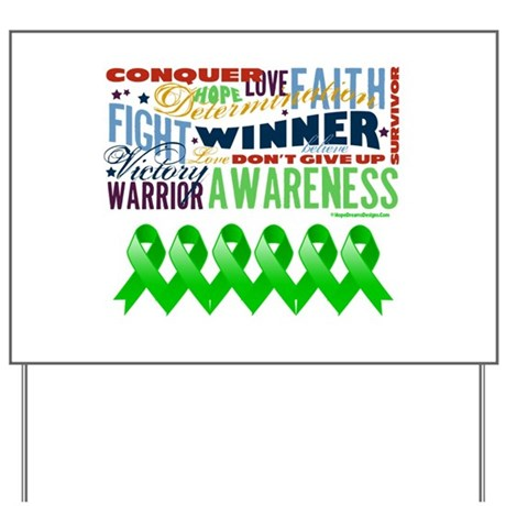 Stem Cell Transplant Survivor Yard Sign