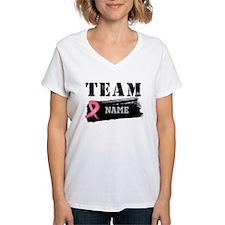 Team Breast Cancer Name Shirt