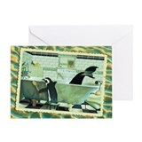 WonderWorld Bathtub Greeting Card