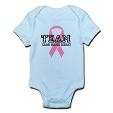 Personalize Breast Cancer Infant Bodysuit