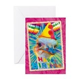 WonderWorld Ostrich Greeting Card