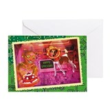 WonderWorld Space Dog Greeting Card