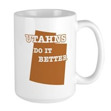 Utahns Do It Better Mug