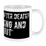 """Is there life after death? Keep talking...&q"