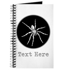 Spider and Gray Custom Text. Journal
