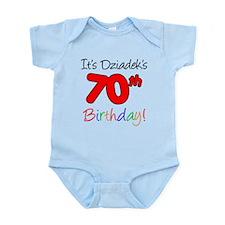 Dziadeks 70th Birthday Onesie