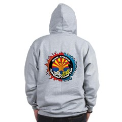 2012 TAZ Zip Hoodie