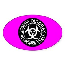 Hot Pink Zombies Decal