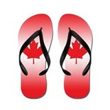 Canada Flag Flip Flops