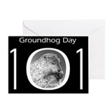 Groundhog day cards Greeting Cards