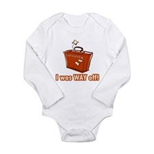Dumb Dumber Samsonite Long Sleeve Infant Bodysuit
