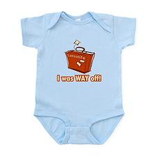 Dumb Dumber Samsonite Infant Bodysuit