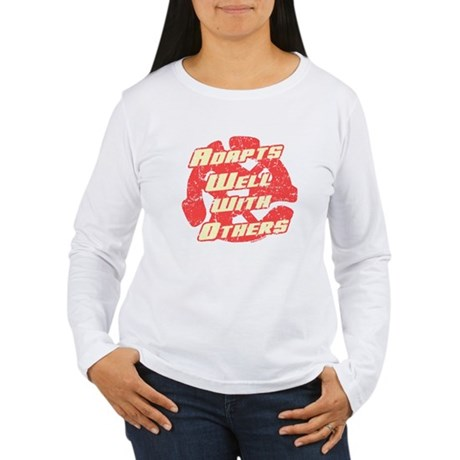 Adapts Well Womens Long Sleeve T-Shirt