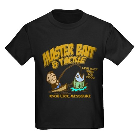Master Bait Tackle Kids Dark T-Shirt