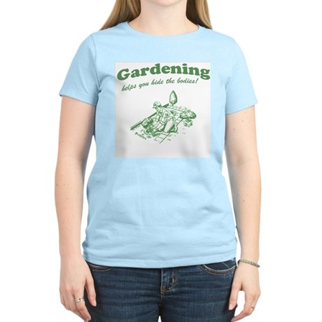 Gardening Helps Womens Light T-Shirt