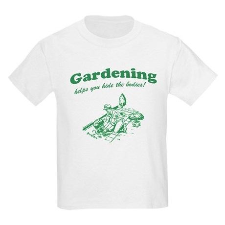 Gardening Helps Kids Light T-Shirt