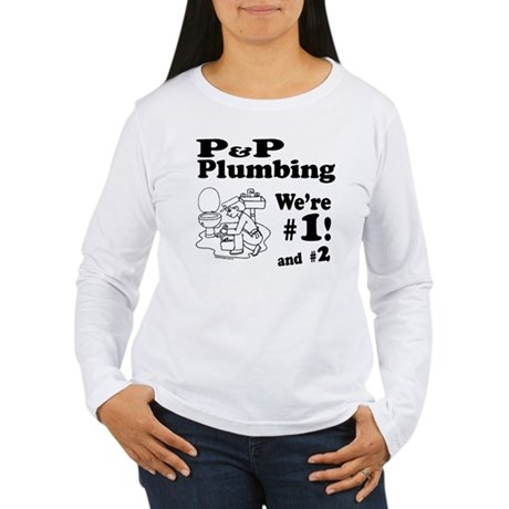 P P Plumbing Women's Long Sleeve T-Shirt