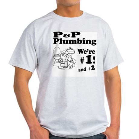 P P Plumbing Light T-Shirt