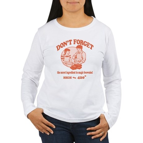 Secret Ingredient Womens Long Sleeve T-Shirt