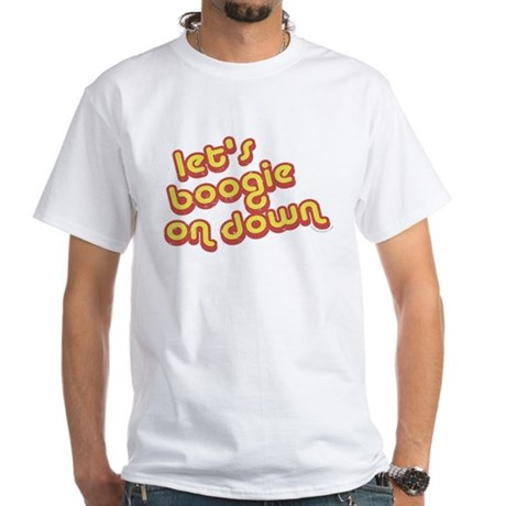 Boogie Down White T-Shirt