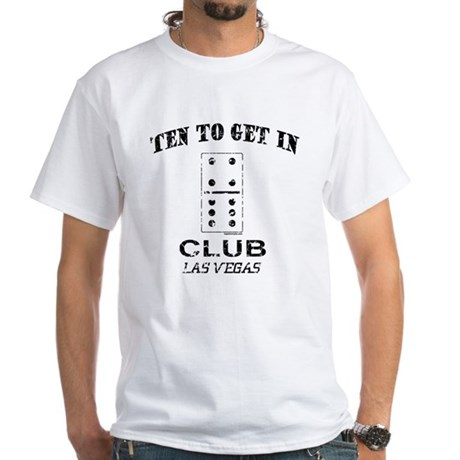 Club 10 White T-Shirt