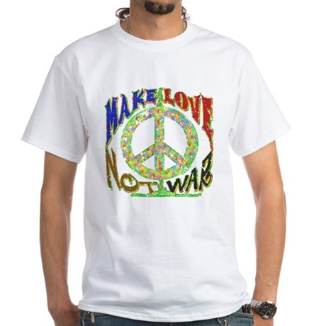 Love not War White T-Shirt