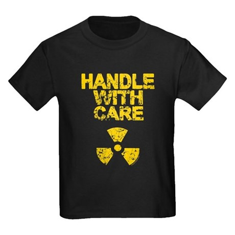 Handle With Care Kids Dark T-Shirt