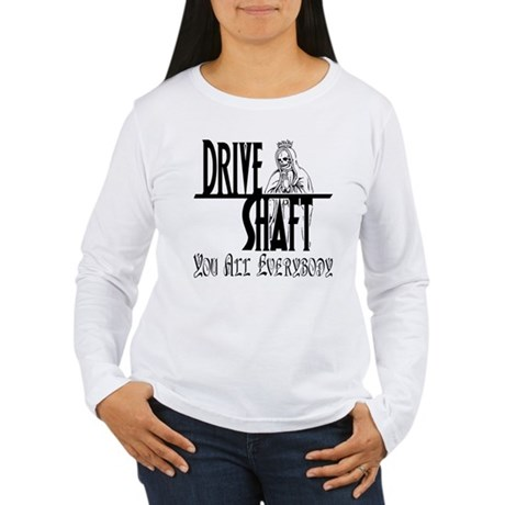 Drive Shaft LOST Womens Long Sleeve T-Shirt