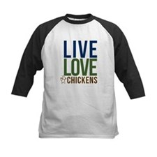 mens live love chickens Tee
