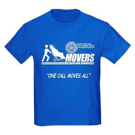 Orchid Movers LOST Kids Dark T-Shirt