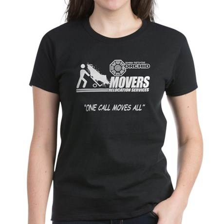 Orchid Movers LOST Womens Dark T-Shirt