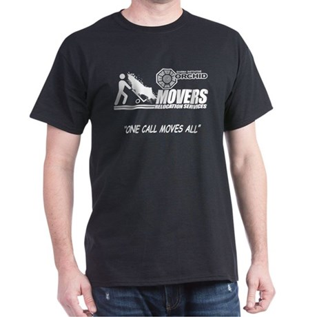 Orchid Movers LOST Dark T-Shirt