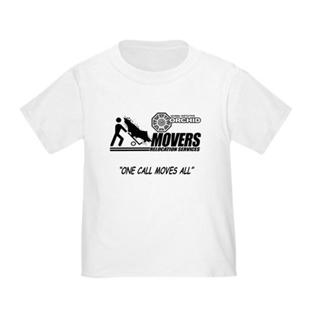 Orchid Movers LOST Toddler T-Shirt