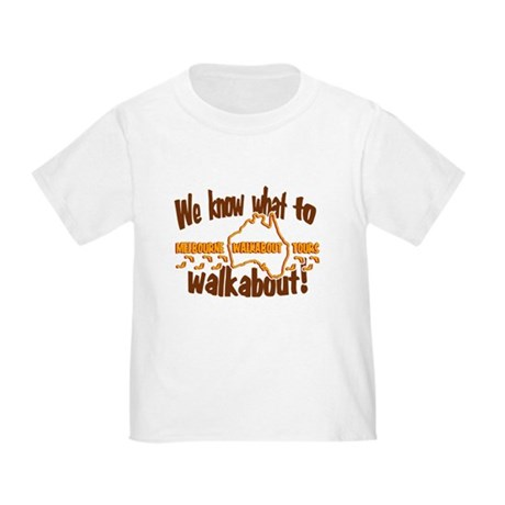 Melbourne Walkabout Tours Toddler T-Shirt