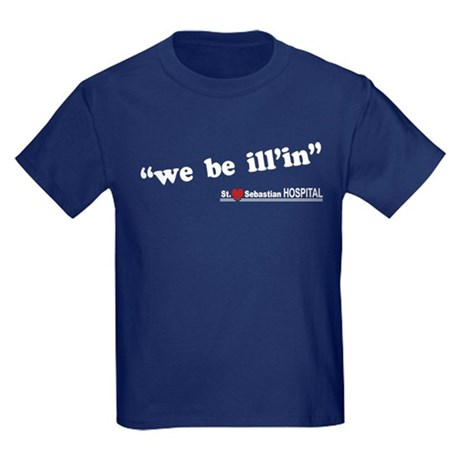 We be Illin LOST Kids Dark T-Shirt