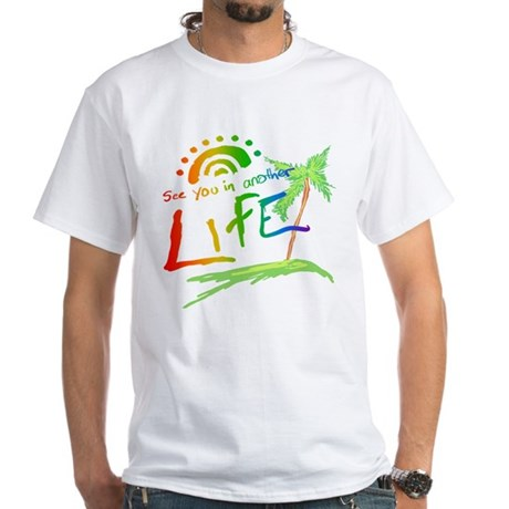 Another Life LOST White T-Shirt