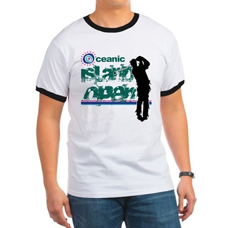 Oceanic Island Open Ringer T
